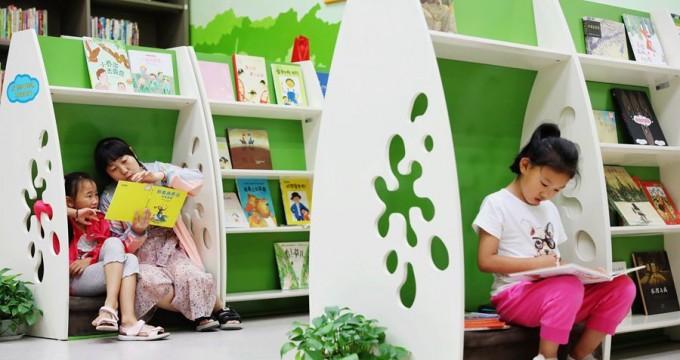 郑州:图书馆里飘书香