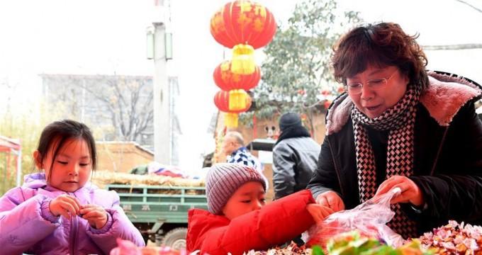 河南郏县:老街年味浓
