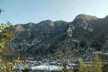 巩义市浮戏山雪花洞景区雪落成诗 诗情胜雪